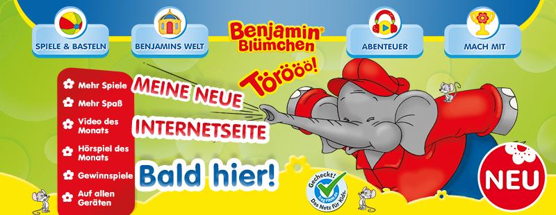 Benjamin Blümchen im Internet