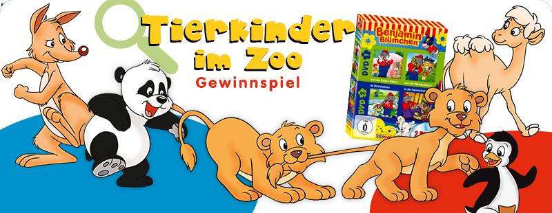 Tiekrinder suche im Zoo Gewinnspiel zum Kindertag